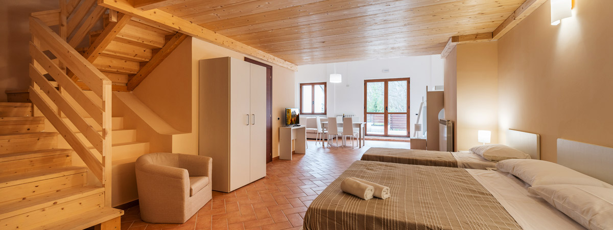 Offerte appartamenti montagna abruzzo residence orso bianco for Appartamenti montagna design